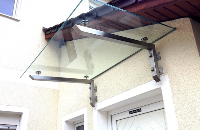 edelstahlvordach glasvordach vord cher vordach g nstig. Black Bedroom Furniture Sets. Home Design Ideas