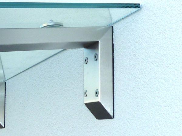edelstahlvordach glasvordach vord cher berdachung. Black Bedroom Furniture Sets. Home Design Ideas