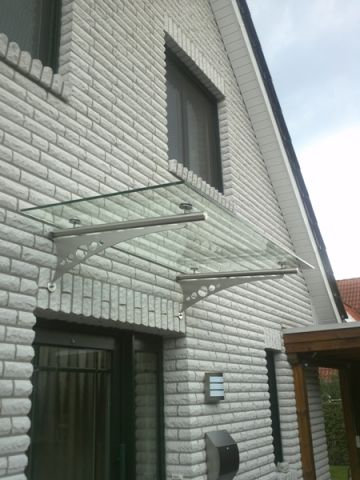 edelstahvordach glasvordach vord cher vordach edelstahl goldmann. Black Bedroom Furniture Sets. Home Design Ideas