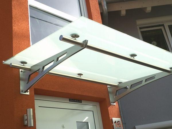 edelstahl vordach glasvordach edelstahglasvordach. Black Bedroom Furniture Sets. Home Design Ideas